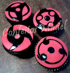 Cupcakes  Tema: Naruto Bolo Do Naruto, Naruto Party Ideas, Naruto Birthday, Anime Cake, Anime Wedding, I Love Anime, Unicorn Party, Anime Naruto, Birthday Party Themes