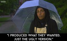 """It's also because she's always so supremely upbeat. 