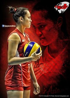 """Michelle """"freakin"""" Gumabao Female Pose Reference, Female Poses, Volleyball, Sports, Movies, Movie Posters, Women, Hs Sports, Films"""