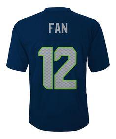 Seattle Seahawks Fan #12 Mid-Tier Jersey - Boys