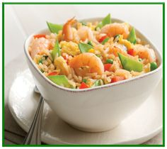 Low FODMAP Shrimp fried rice with egg  ginger  http://www.ibssanoplus.com/low_fodmap_shrimp_fried_rice.html