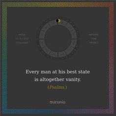 Ouranio.com | Daily quote: Every man...