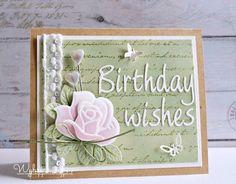 Cards made by Wybrich: Birthday wishes