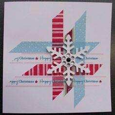 Plaid and snowflake idea