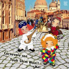 Carnevale con Youk Shim Won!!