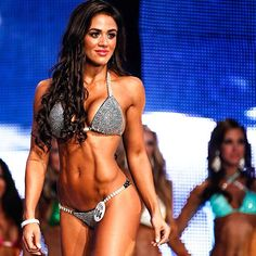 sexygymchicks: @Brittany Horton Coutu: Lost in the Moment! Throwback Thursday this past August 24th in Vegas at the #WBFF WORLDS PRO SHOW! Where I placed 2nd Runner Up! Can't even explain the emotions that were running thru my body as I got to share the stage with hundreds of inspirations and fitness icons!