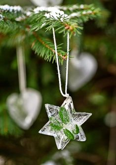 White Christmas, Christmas Time, Merry Christmas, Christmas Decorations, Christmas Ornaments, Holiday Decor, Snow And Ice, Christmas Inspiration, Shades Of Green
