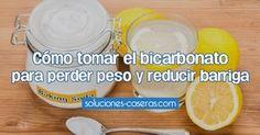 Cómo tomar el bicarbonato para perder peso