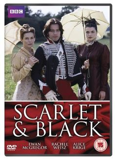 """The Scarlet and the Black (1993) - Serial TV. """"Алое и черное""""(мини-сериал) (экранизация романа Стендаля """"Красное и черное"""") режиссерБен Болт."""
