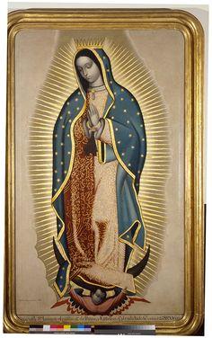 Francisco Antonio Vallejo, Virgen de Guadalupe, 1780