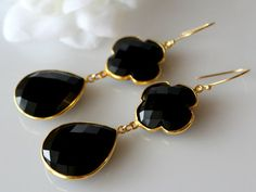 onyx jewelry earrings & necklaces - Google Search