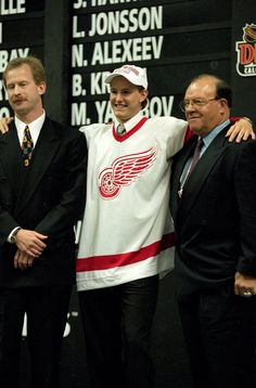 Look how little and young he looks. It's a baby Kronwall (2000, 29th Overall)