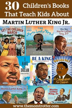 Martin Luther King Books, Martin Luther Jr, Marthin Luther, Diversity In The Classroom, Multicultural Classroom, Black History Books, King Jr, Teaching Kids, Preschool Kindergarten
