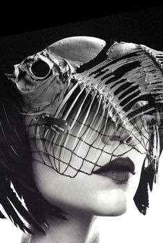 fish and mask