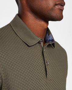 Explore men's polo shirts at Ted Baker. Polo Shirt Style, Polo Shirt Outfits, Polo Shirt Design, T Shirt, Ted Baker, Mens Designer Polo Shirts, Mens Trends, Men Sweater, Men's Polo