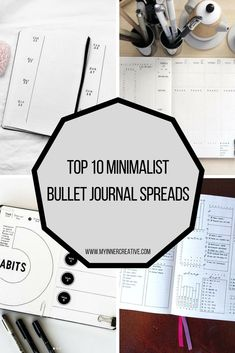 The top 10 Minimalist Journals from this week. Have you had a look?