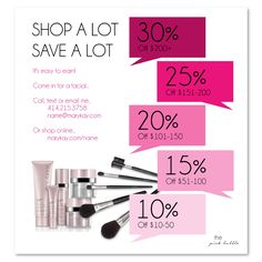 Mary Kay sale idea! Customize the text on the left with your information & sale details! Find it on www.thepinkbubble.co!!