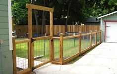 Would make a nice fence to blend in with our log home to let the kids and dogs play outside.