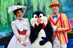 Mary Poppins, Mr. Penguin, Bert