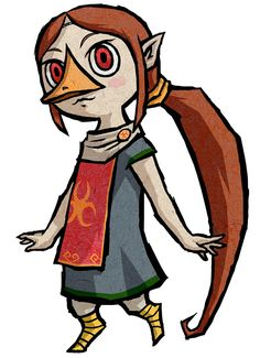 View an image titled 'Medli Art' in our The Legend of Zelda: The Wind Waker HD art gallery featuring official character designs, concept art, and promo pictures. Game Character, Character Design, Nintendo, Hyrule Warriors, The Legend Of Zelda, Wind Waker, Twilight Princess, Princess Zelda, Funny Art