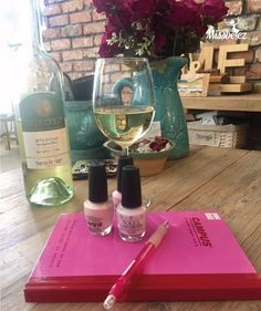 What pairs well with a nice glass of wine at the end of the work week? A relaxing mani in your own home, courtesy of a Missbeez certified Pro.