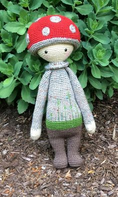 Lalylala Paul the Toadstool by seechriscreate on Etsy