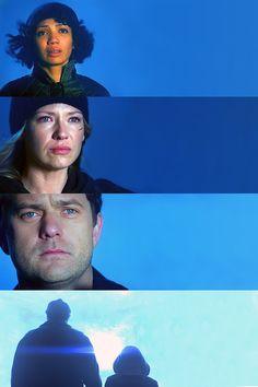 Sad Fringe characters. Buh-bye, Walter!