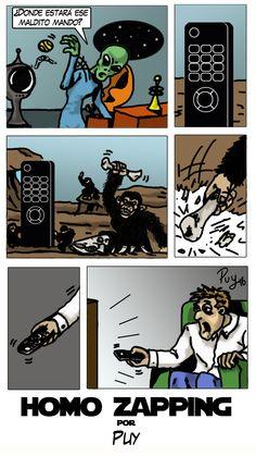 Tira cómica publicada en Revista miNatura nº 149