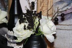 Ankerwerfer, Wedding Deko, schwarz/weiß, Gothik, Halloween, Hochzeit