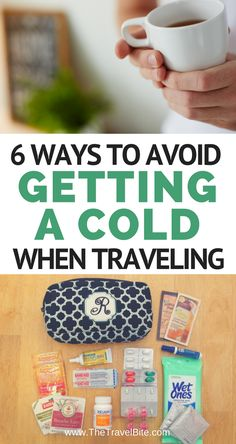My best tips to avoid getting a cold while traveling! Being on-the-go all the time can take it's toll on your body and staying healthy while traveling is always at the top of my mind. Changing time zones, not getting enough rest, and indulging in rich fo Travel Checklist, Travel Advice, Travel Essentials, Travel Guides, Travel Tips, Travel Hacks, Travelling Tips, Travel Info, Travel Stuff