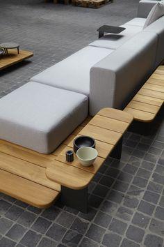 Composiciones modulares en madera. Diseño y elegancia dentro y fuera de casa. #Pal #Point #FrancescRifé