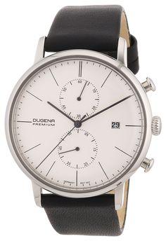 Dugena Herren-Armbanduhr XL Premium Dessau Chronograph Quarz Leder 7000033: Amazon.de: Uhren