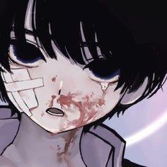 Anime W, Dark Anime, Anime Guys, Aesthetic Drawing, Aesthetic Anime, Pretty Art, Cute Art, Arte Emo, Emo Art