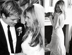 The Marriage May Not Have Lasted But Dress What We Got To See Of It Was Typical Jennifer Aniston Clically Beautiful