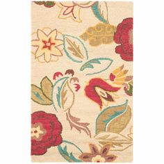 Safavieh Blossom Wool Area Rug: Decor : Walmart.com