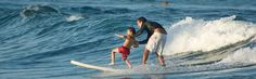 Surfing Old Man's in Cabo with his old man :)