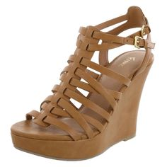 Women's Lupita Woven Wedge, Tan, hi-res Price: $39.99 Available in size: 11, 12, 13