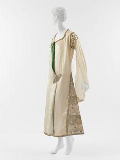 Paul Poiret  (French, Paris 1879–1944 Paris)    Date:      1920s  Culture:      French  Medium:      silk, metallic