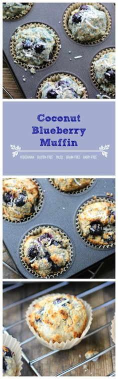 These are the best healthy muffins you can ever eat.  Made with quality natural ingredients that can provide your body with good nutrition and fulfillment without compromising the taste.  Now your morning experience just got a whole lot better with these delicious and quilt-free Coconut Blueberry Muffins.  Enjoy!