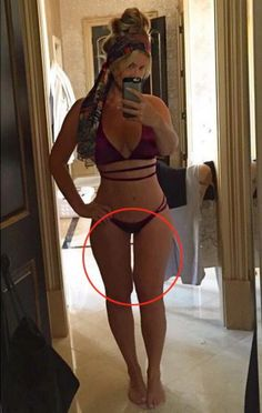 Did Beyonc 233 Photoshop The Thigh Gap In Her Latest Bikini