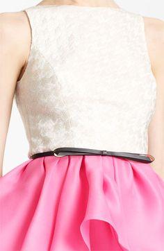 Jason Wu Belted Peplum Dress | Nordstrom