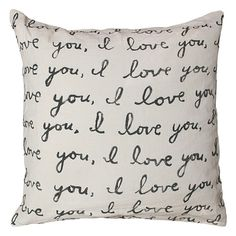 "Sugarboo""I Love You"" Pillow"