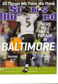 cb7842834 Baltimore Ravens  Super Bowl cover SI Super Bowl Xlvii