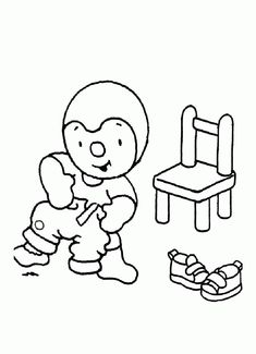 1000 images about coloriages t 39 choupi on pinterest sons - Tchoupi galette ...