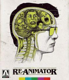 Re-Animator (Blu-ray, 2018) Arrow Video/Cult '80s Zombie/Horror/Gore *BRAND NEW*