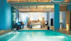 Modern  Bedrooms Design with Modern Concept with pool
