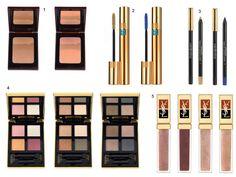 Lançamento maquiagem de verão YSL.