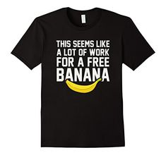 Funny running t-shirts, running quotes - run for food, free banana post-race. Gift ideas for runners, running marathons, ultra, trails, or beginner training for their first 5K or 10K! Can be good for high school, college students for cross country or track too. Fitness gifts to help with the workout, race bib and medal display, or make a runner's gift basket! So whether it's Christmas, birthday, another holiday gift, or just a post-race celebration after a first race, good for women and for…