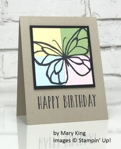 Beautiful Day, Perennial Birthday, Stampin' Up!, by Mary King