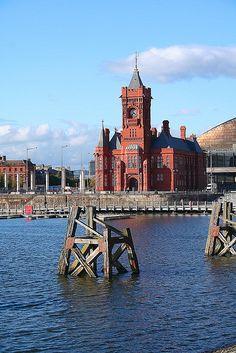 Pierhead Building, Cardiff Bay, Cardiff, South Wales, UK